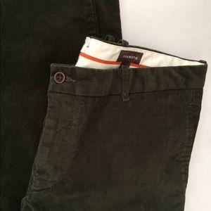 """Dockers Men's dark Green cord Pants 38""""/32"""" EUC"""